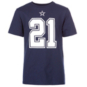 Dallas Cowboys Youth Ezekiel Elliott #21 Authentic Name and Number T-Shirt