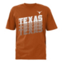 Texas Longhorns Youth Blurred Lines Tee