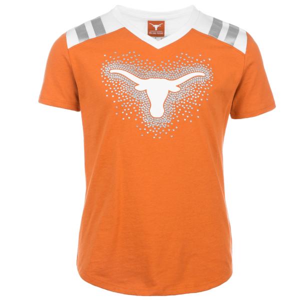 Texas Longhorns Girls Decker Tee