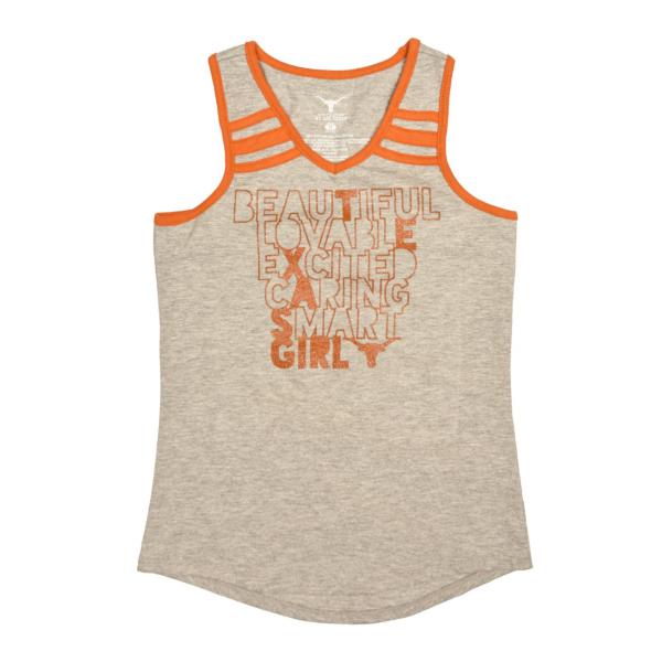 Texas Longhorns Girls Etta Tank