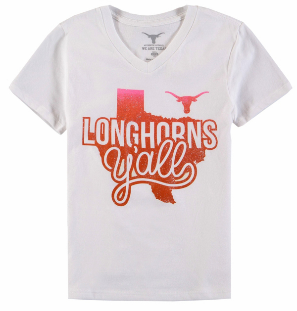 Texas Longhorns Girls Jessica Tee