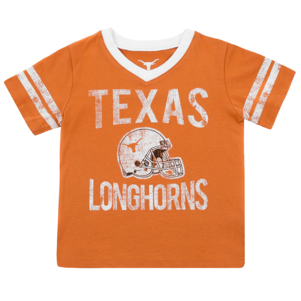 Texas Longhorns Toddler Lincoln Tee