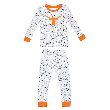 Texas Longhorns Toddler Golly Sleep Set