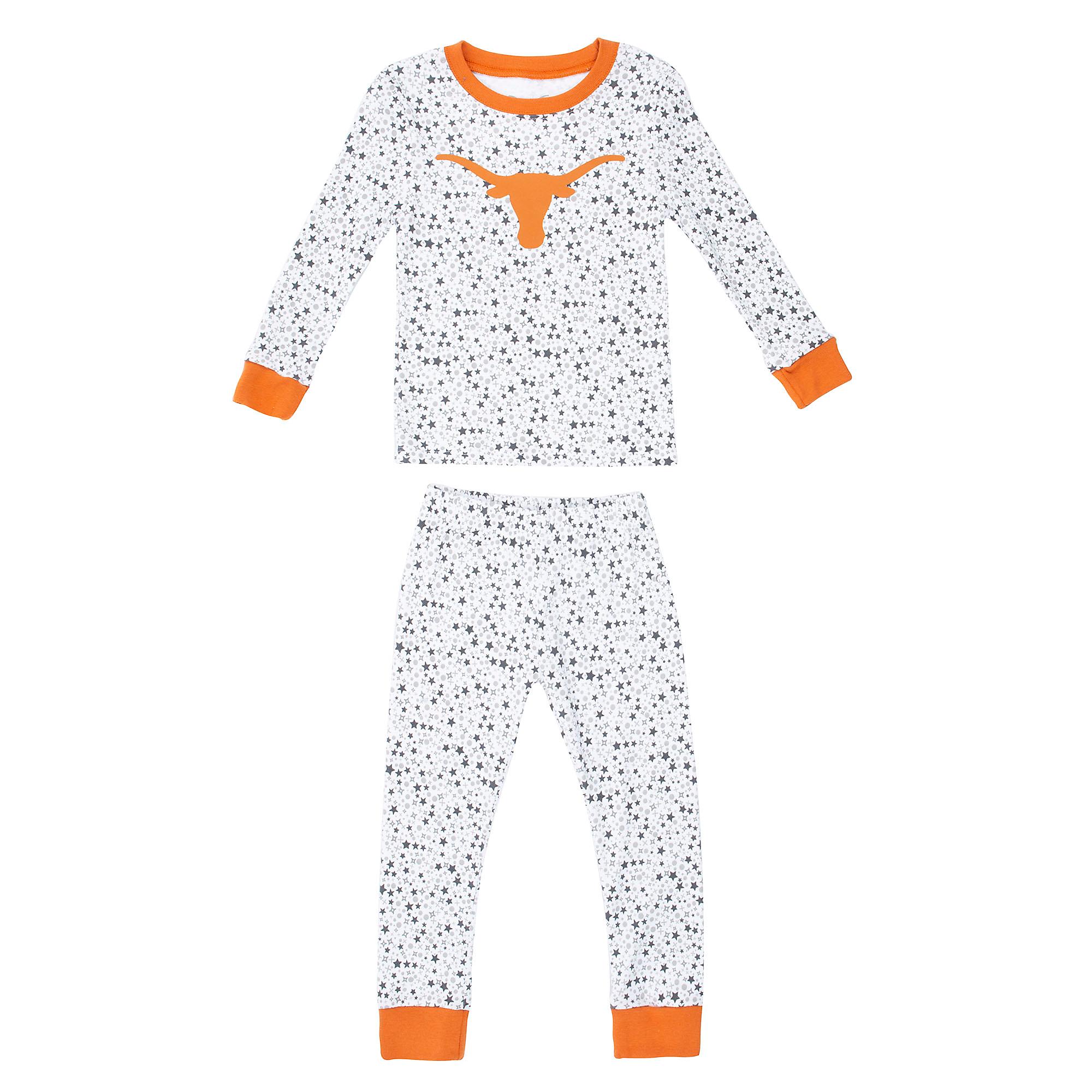 Texas Longhorns Toddler Golly Sleep Set