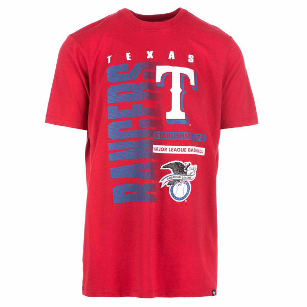 Texas Rangers 47 Red Splitter Tee