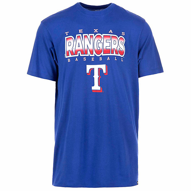 Texas Rangers 47 Royal Splitter Tee
