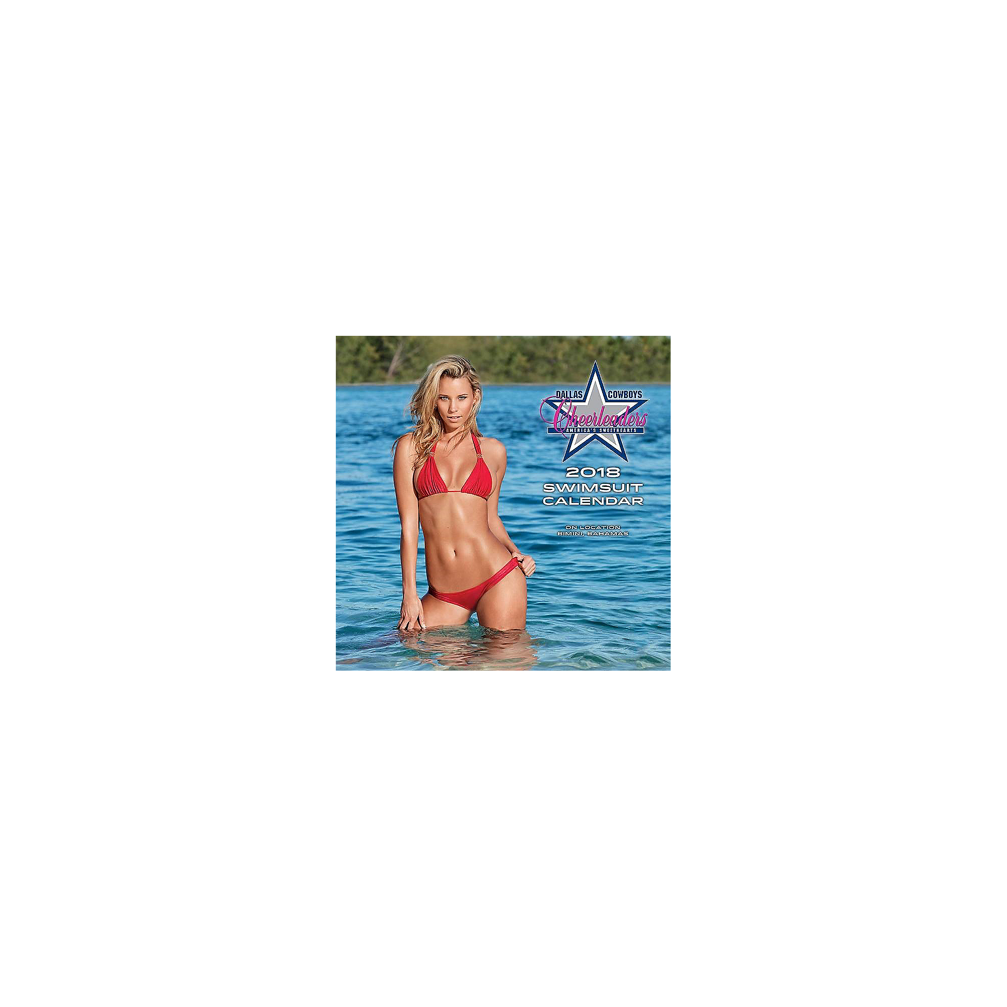 129807112c 2018 15x15 Dallas Cowboys Cheerleaders Swimsuit Wall Calendar ...