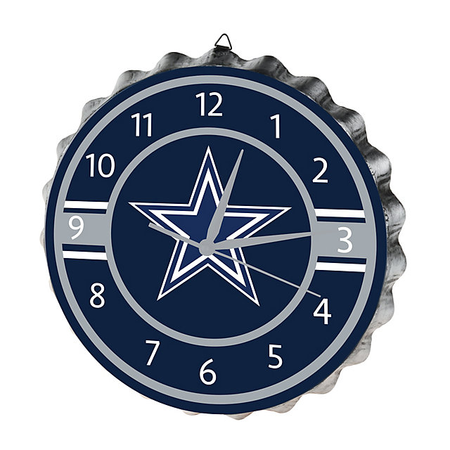 Dallas Cowboys Bottlecap Clock