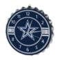 Dallas Cowboys Bottlecap Clock