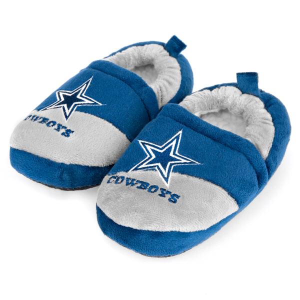 Dallas Cowboys Child Closed Slipper - Size Large