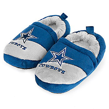 Dallas Cowboys Child Closed Slipper - Size X-Large