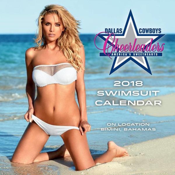 2018 7x7 Dallas Cowboys Cheerleaders Mini Calendar