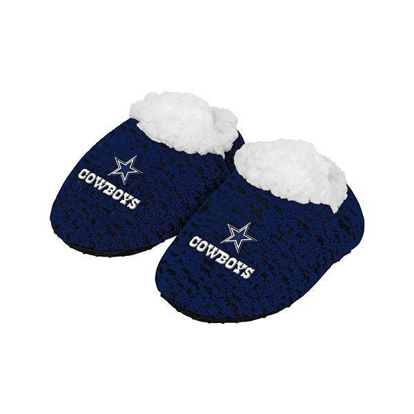 Dallas Cowboys Knit Baby Bootie - Size Large