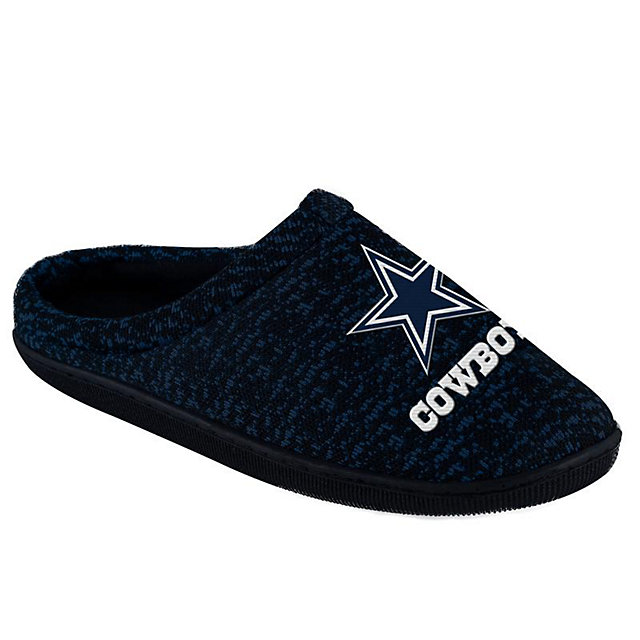 Dallas Cowboys Men's Sole Slippers - Size Large