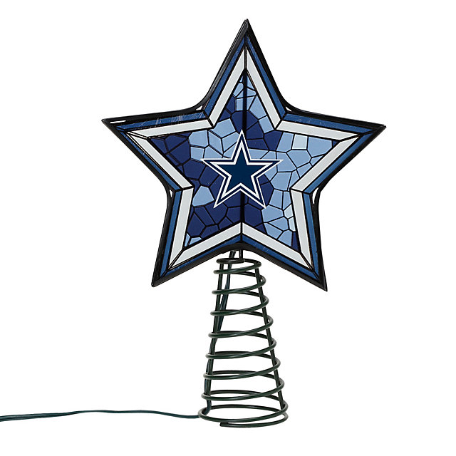 Dallas Cowboys Mosaic Tree Topper