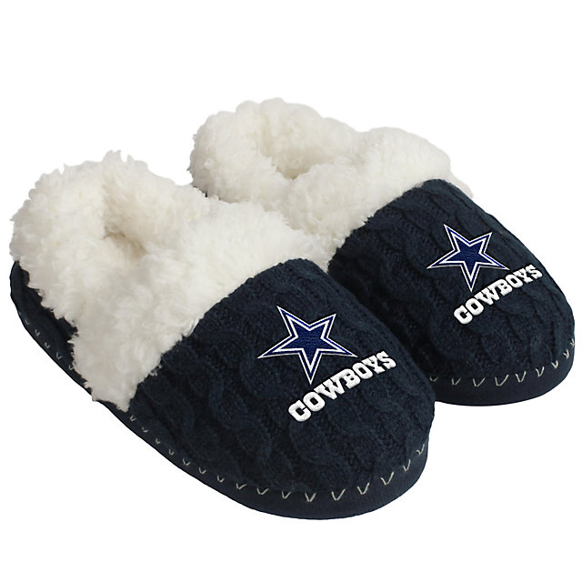 Dallas Cowboys Team Moccasin Slippers - Size Large