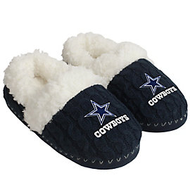 Dallas Cowboys Team Moccasin Slippers - Size Medium