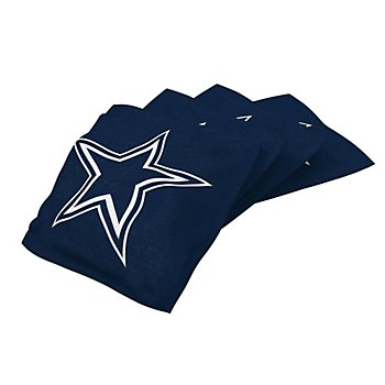 Dallas Cowboys Navy Bean Bag - 4 Pack