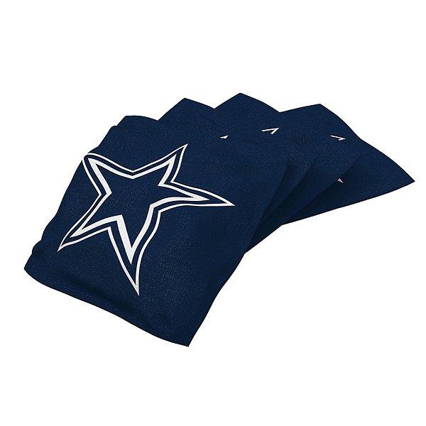 Dallas Cowboys Navy Bean Bag - 4 Pack