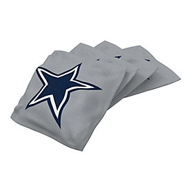 Dallas Cowboys Silver Bean Bag - 4 Pack
