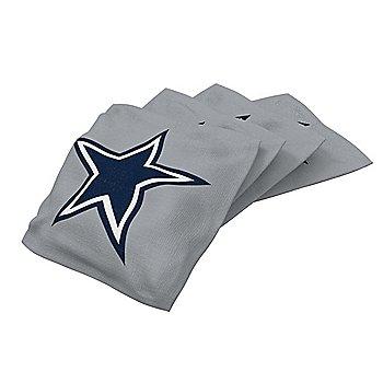 Dallas Cowboys Silver Bean Bag - 4 Pack