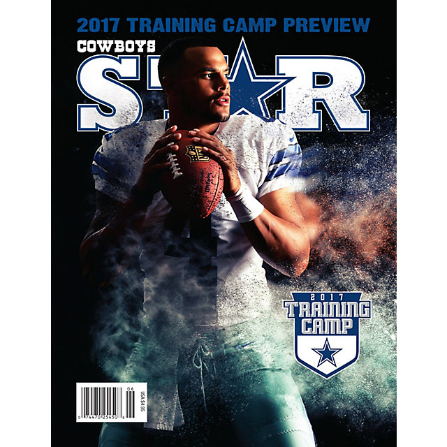 Dallas Cowboys Star Magazine Training Camp Issue 2017
