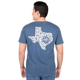 Dallas Cowboys Alta Gracia Unisex Paisley State Tee