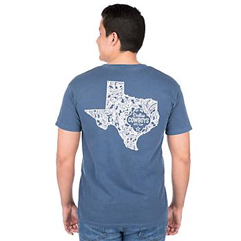 Dallas Cowboys Alta Gracia Paisley State Tee