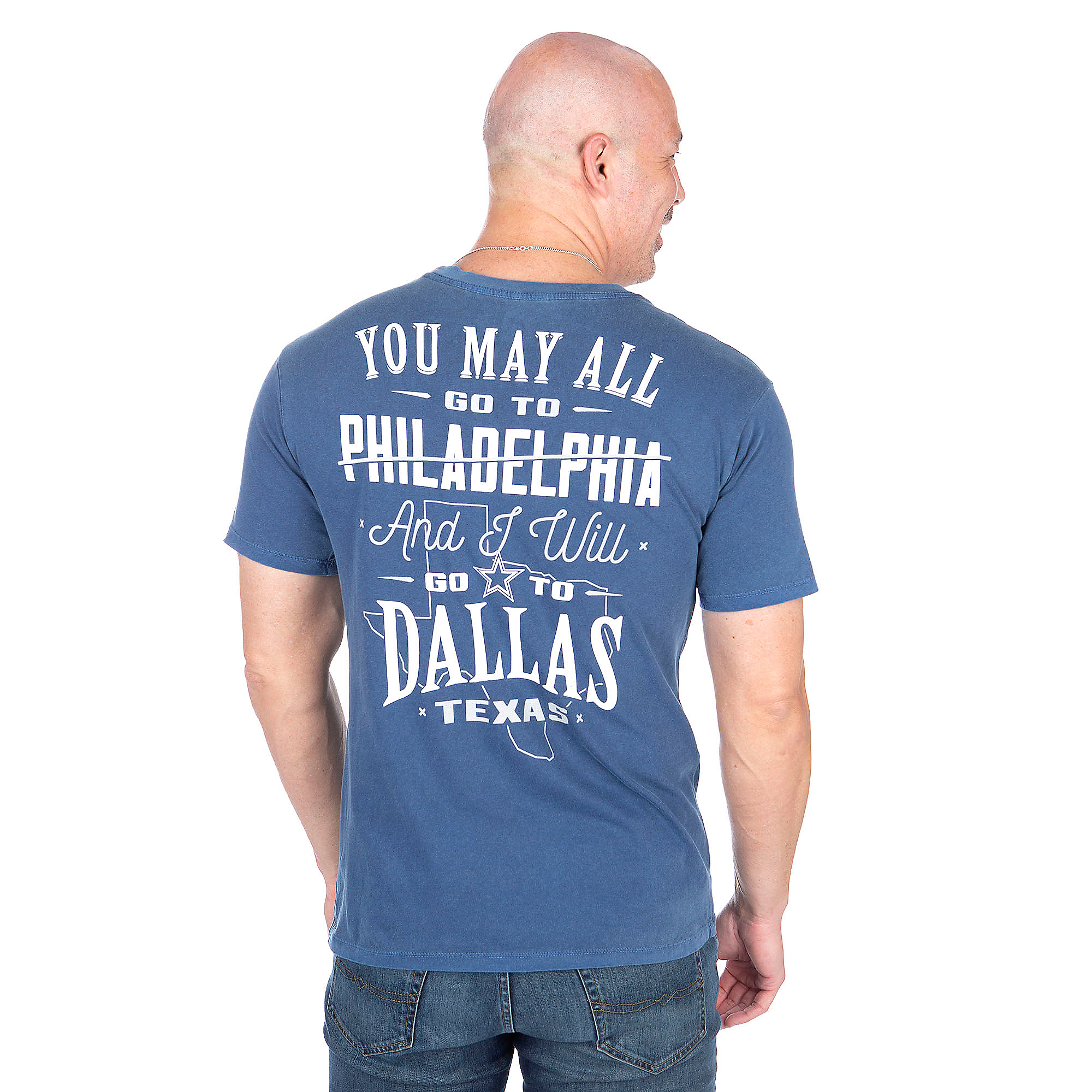 Dallas Cowboys Alta Gracia Go To Philly Tee