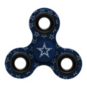Dallas Cowboys Navy Three-Way Printed Fidget Spinner