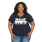 Dallas Cowboys Plus Size Practice Glitter Tee