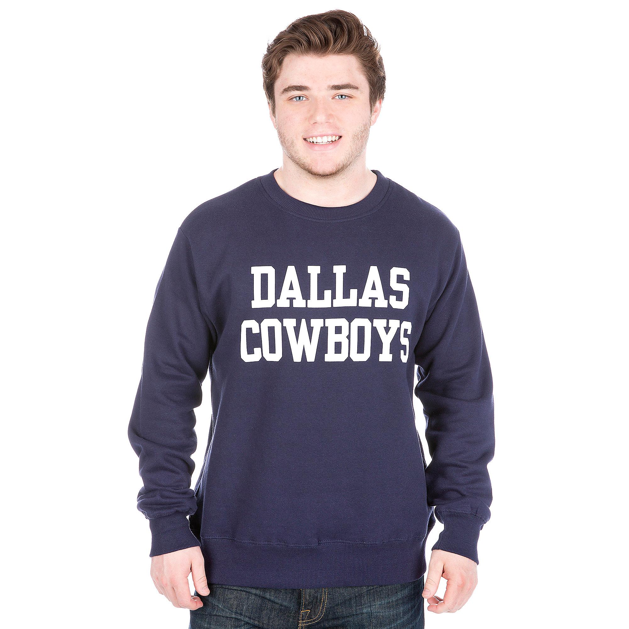 Dallas Cowboys Coaches Fleece Crew Sweatshirt