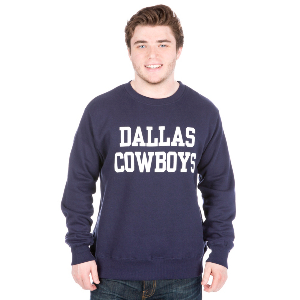 Dallas Cowboys Coaches Fleece Crew Sweatshirt
