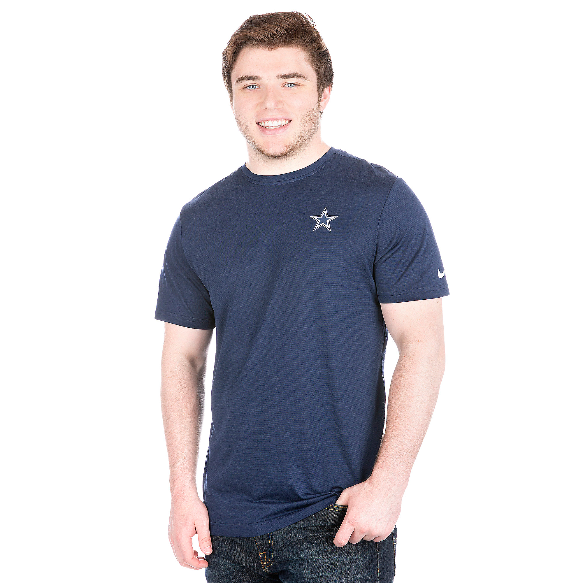 Dallas Cowboys Nike Coaches Short Sleeve Tee