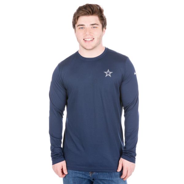 Dallas Cowboys Nike Coaches Long Sleeve Tee