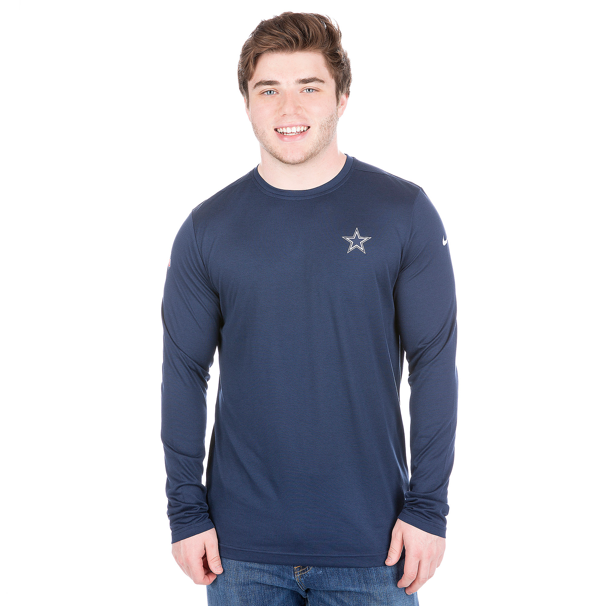 Dallas Cowboys Nike Coaches Long Sleeve Tee