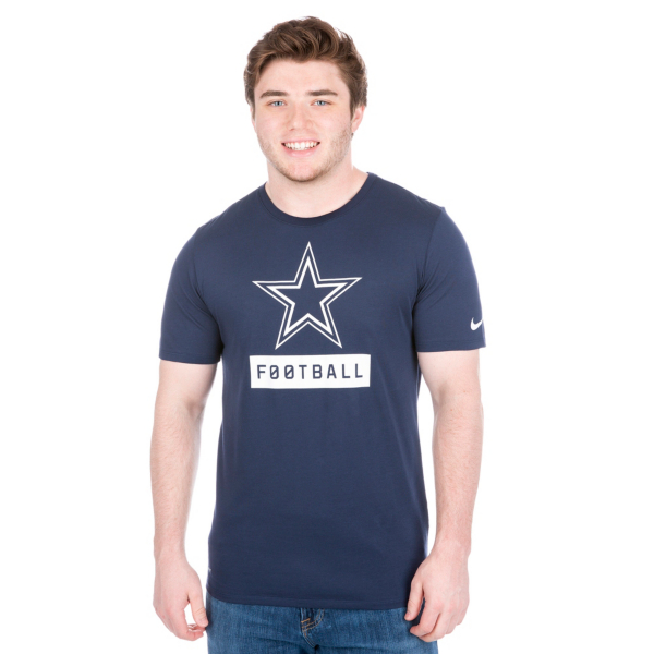 Dallas Cowboys Nike Equipment Logo Tee