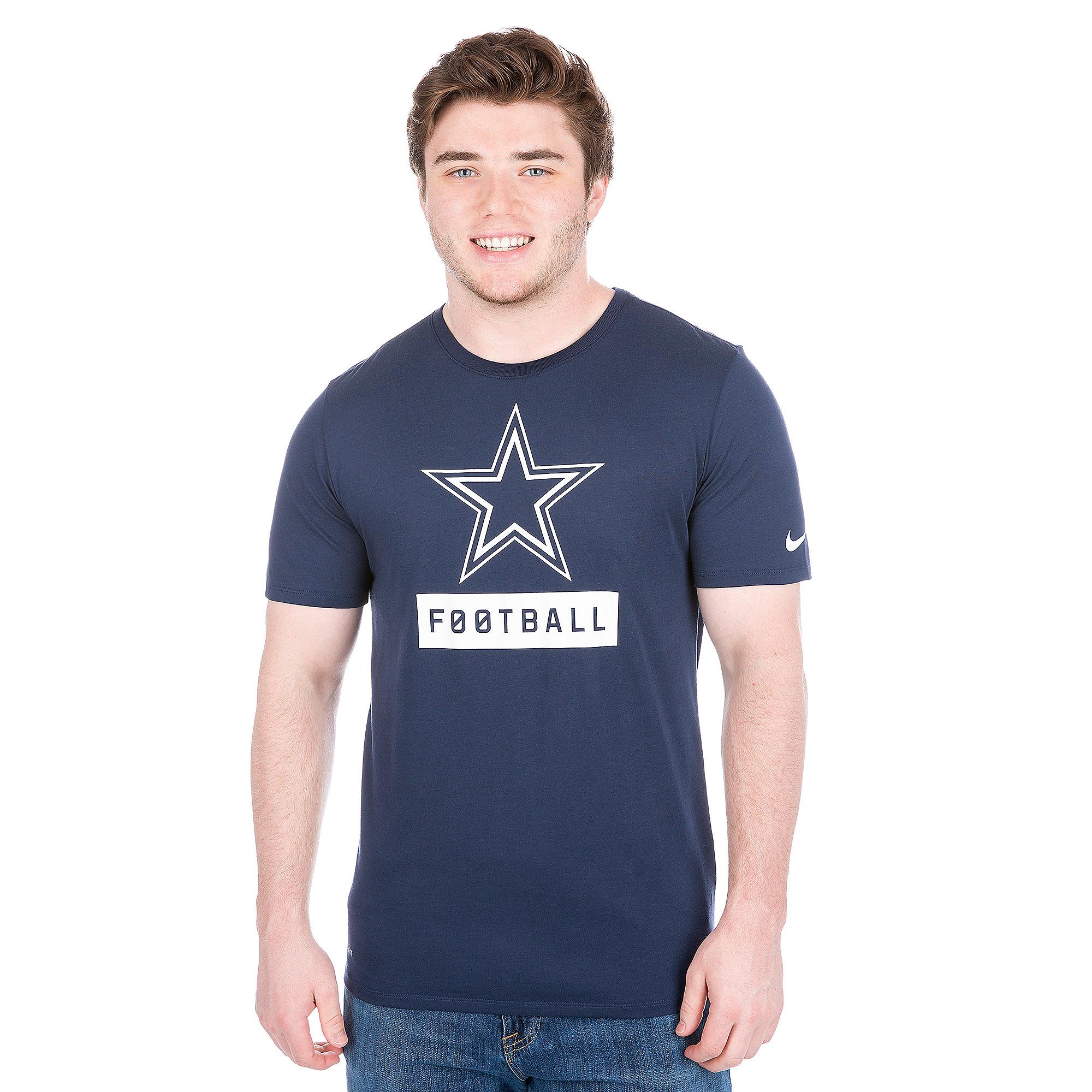 Dallas Cowboys Nike Equipment Logo Tee