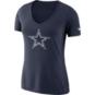 Dallas Cowboys Nike Womens Tri Vault Logo Tee