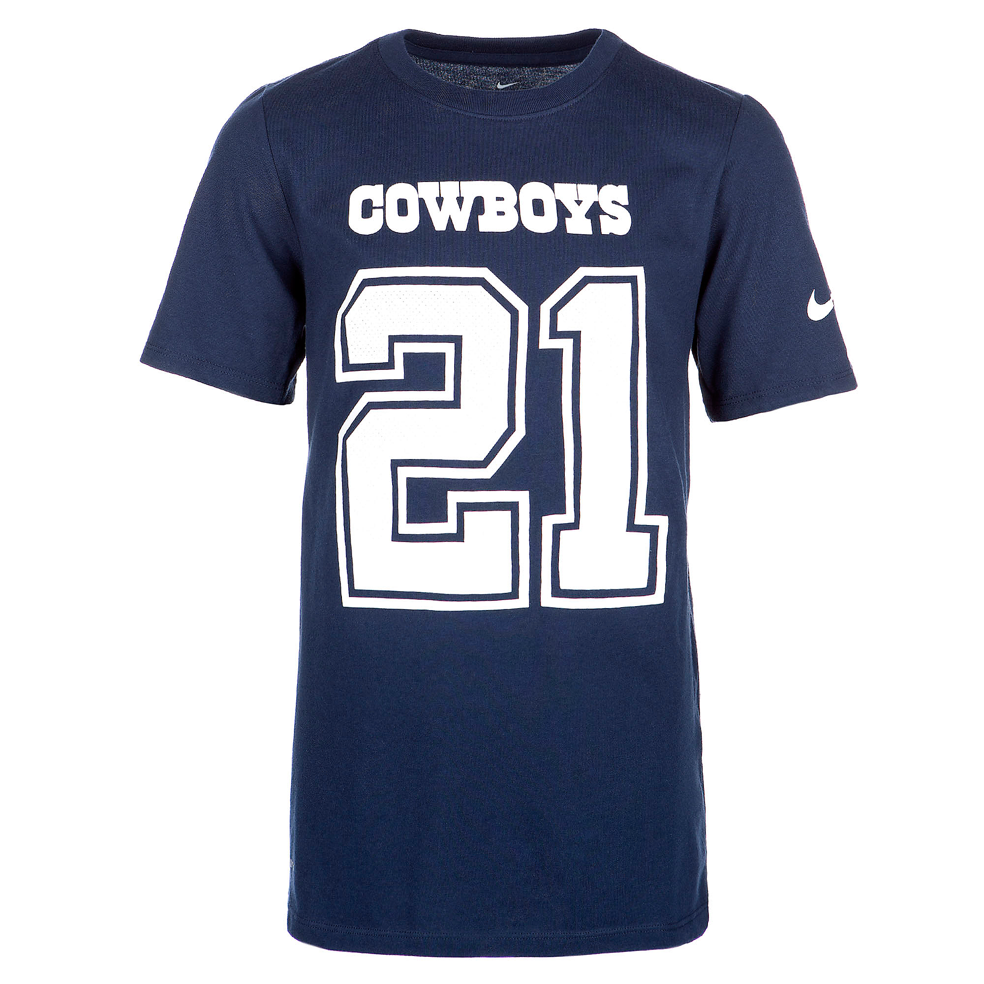 Dallas Cowboys Youth Ezekiel Elliott #21 Nike Player Pride 2 Tee
