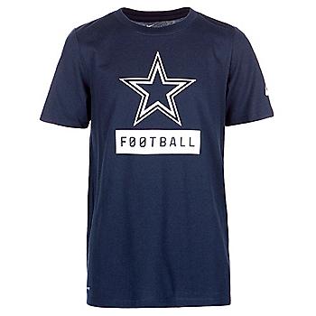 Dallas Cowboys Nike Youth Equipment Logo T-Shirt