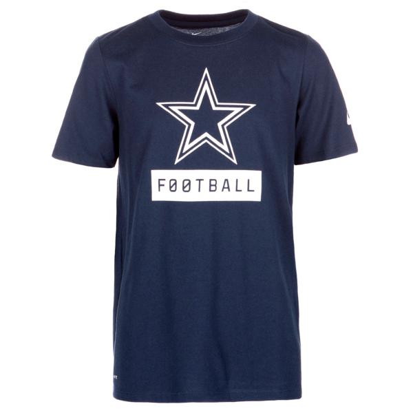 Dallas Cowboys Nike Youth Equipment Logo Tee