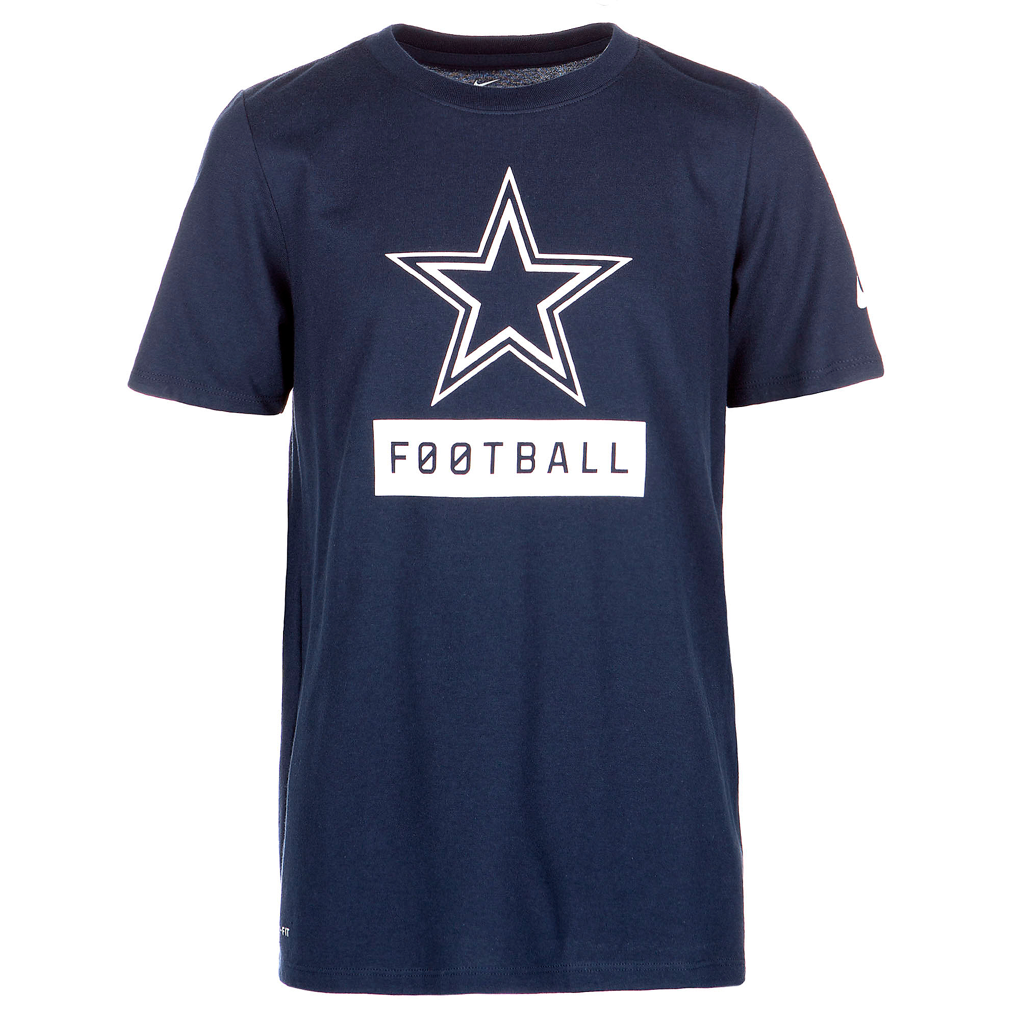 Dallas Cowboys Nike Youth Equipment Logo Tee