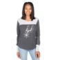 San Antonio Spurs Womens Blind Side Thermal Long Sleeve Tee