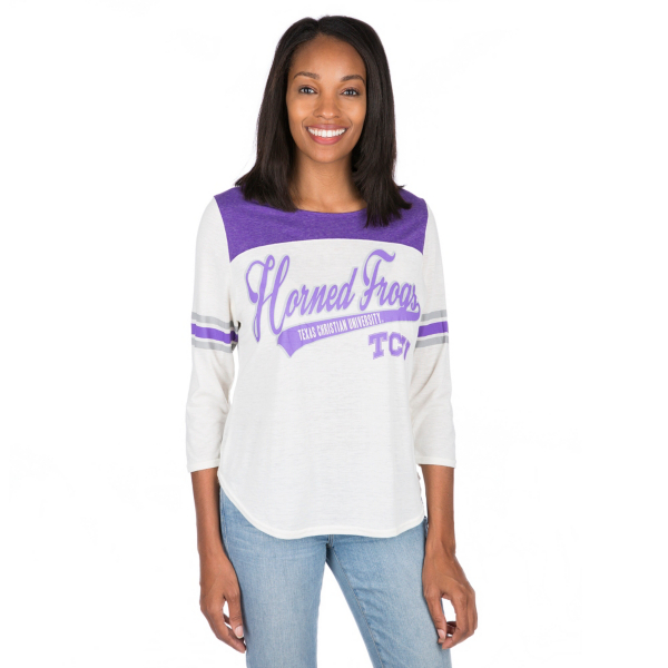 TCU Horned Frogs Womens Endzone Tee