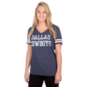 Dallas Cowboys Womens Worn Coaches Tee