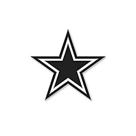 Dallas Cowboys Navy Star Pin