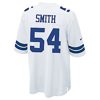 Dallas Cowboys Jaylon Smith #54 Nike White Game Replica Jersey