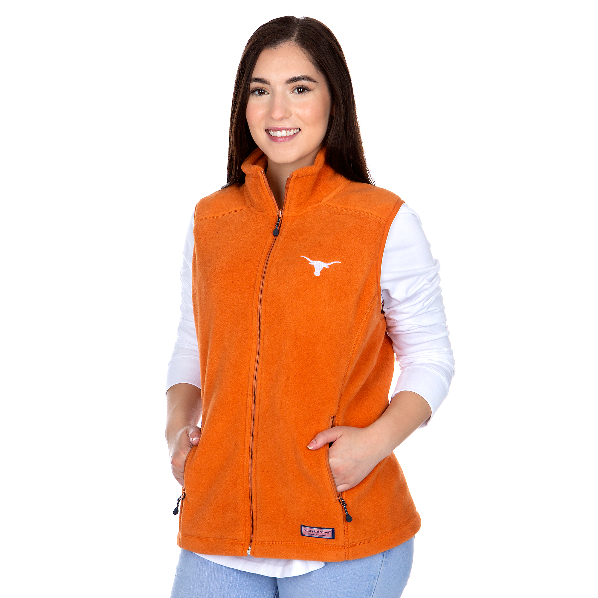 Texas Longhorns Womens Vineyard Vines Westerly Vest
