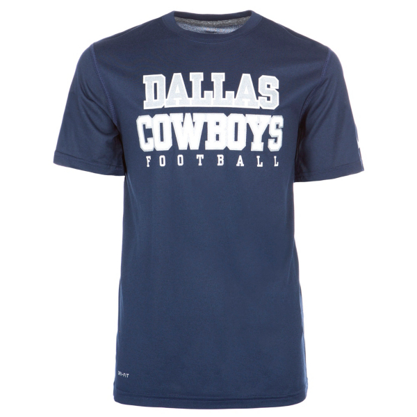 Dallas Cowboys Nike Youth Legend Practice Short Sleeve Tee